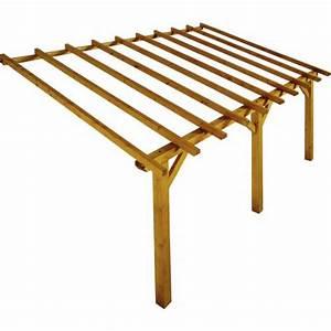 lean to wood pergola 5 x 3 m prado buy lean to wood With wonderful comment monter une tonnelle de jardin 1 construire une tonnelle de jardin 100 images pergola