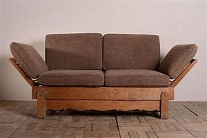 193039s heals oak bed settee antiques atlas With heals sofa bed