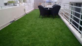 roof balcony gallery project  good  grass