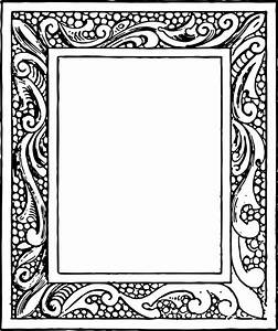 Free Vector Clipart - Vintage Frames Oh So Nifty Vintage