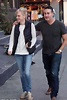 Anna Faris and Michael Barrett cuddle up in LA   Daily ...