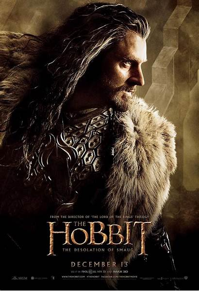 Hobbit Seven Posters Character Smaug Earth Desolation