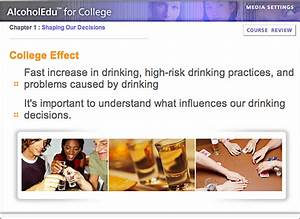 Alcohol education required for all first-year students