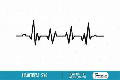 Svg Heartbeat Ekg Clip Lifeline Ecg Clipart