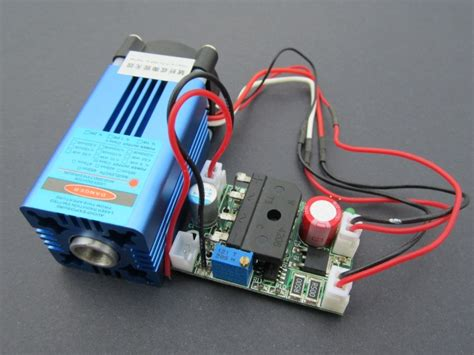 Blue Laser Module Air Cooled Ttl Modulation High
