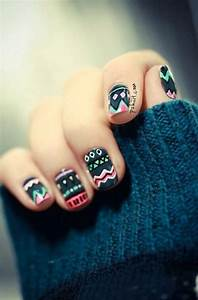 nail art design fall mint cute tutorial diy winter | Nails ...