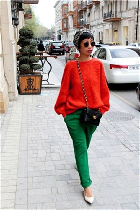 Ivory Kitten Heels Aldo Shoes Orange Sweaters | u0026quot;CLEMENTINEu0026quot; by Aphrodite | Chictopia