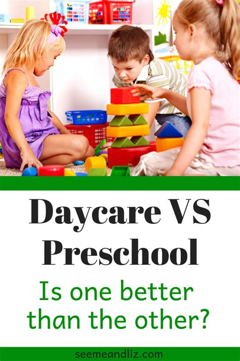 daycare vs preschool is one better than the other 929 | Daycare VS Preschool Is one better