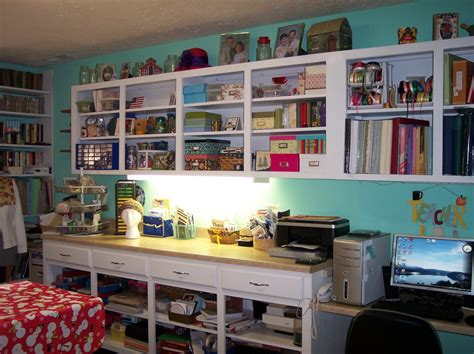 + Creative Shelving Ideas For Small Craft Room-the