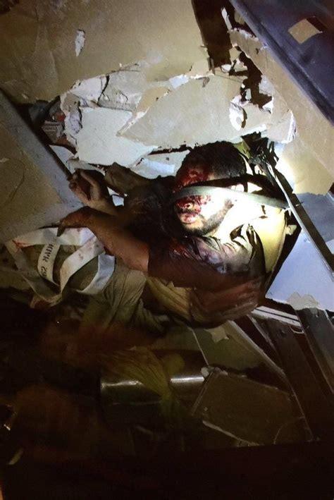 gruesome photo appears  show dallas attacker  robot