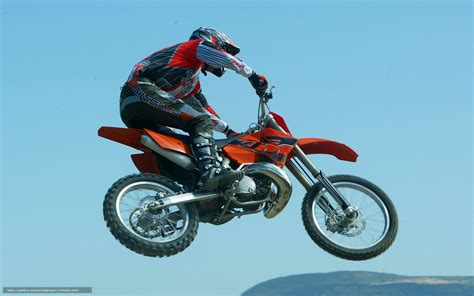 Download Wallpaper Ktm, Motocross Sx, 250 Sx, 250 Sx 2005
