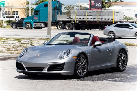 Maybe it's the relative rarity of the targa body style here in l.a., where carrera coupes and convertibles are as commonplace as ford mustangs. Used 2017 Porsche 911 Carrera S For Sale ($89,900) | Marino Performance Motors Stock #155243
