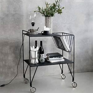 House Doctor Bilder : servierwagen trolley use matt schwarz von house doctor 249 00 ~ Whattoseeinmadrid.com Haus und Dekorationen