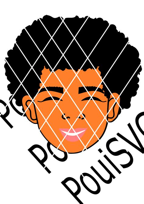 This listing is for files that will be available to instantly download upon payment (no physical item received). Julian SVG cut file, African American boy svg,Afro svg,Kid ...