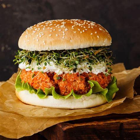 cuisine steak recette burger végétarien au steak de carottes facile
