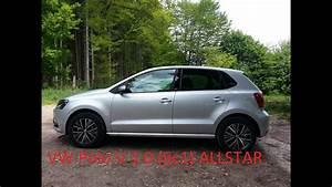 Volkswagen Polo 2016 : vw polo v 6c1 1 0 allstar 2016 silber grau walkaround 55kw 75ps youtube ~ Medecine-chirurgie-esthetiques.com Avis de Voitures