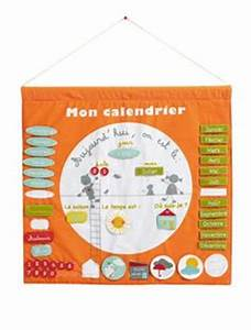Calendrier Tissu Enfant : 1000 images about calendrier on pinterest magnets calendar and mauve ~ Melissatoandfro.com Idées de Décoration