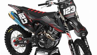Dirt Bike Honda Graphics Custom Kit Factory