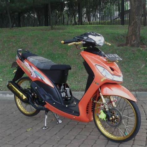 modifikasi mio indonesia modifikasi motor kawasaki honda