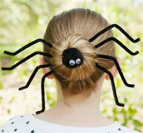 spinne basteln  krabbelige halloween deko ideen zum