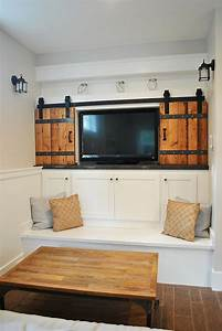 architectural accents sliding barn doors for the home With barn doors to hide tv