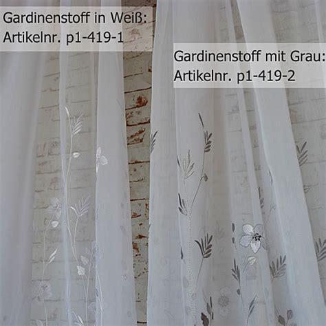 Gardinen Stores Meterware by Gardinenstoffe Klassische Und Ausgefallene Gardinen