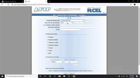Portal de acceso simplificado para monotributistas, con las siguientes funcionalidades: Como hacer factura electrónica monotributo en la pagina de afip - YouTube