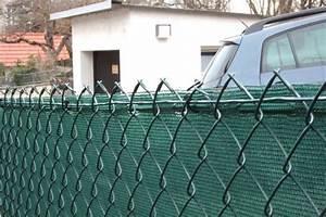 Wie Setze Ich Einen Zaun : zaunblende gr n 75 schutzwert in gr n ~ Articles-book.com Haus und Dekorationen