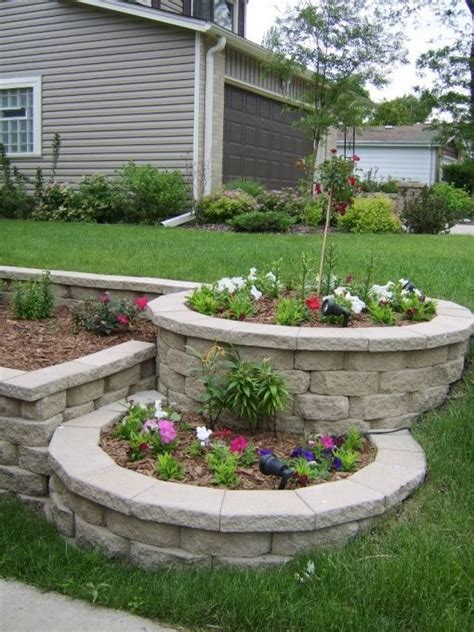 tiered backyard landscaping ideas landscape ideas landscaping ideas for zone 3
