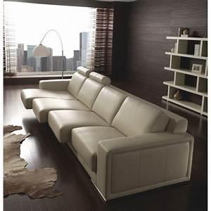 Canapé 4 Places : canap 4 places empire cuir achat vente canap sofa divan cdiscount ~ Teatrodelosmanantiales.com Idées de Décoration