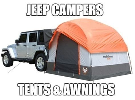 jeep tent 2 door jeep tent options cers awnings morr