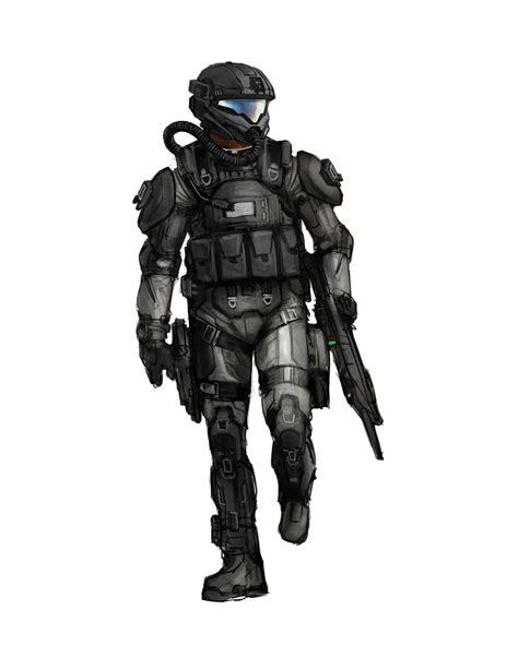 Artstation Halo 3 Odst Iterations Isaac Hannaford