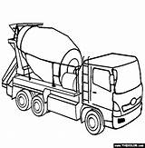 Cement Coloring Mixer Truck Pages Tonka Trucks Colouring Construction Drawing Lorry Sheets Printable Thecolor Clip Mixers Clipart Signs Getdrawings Bilder sketch template