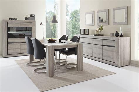 meubles de salle manger contemporaine couleur chne gris