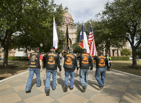 Bikers rally at Legislative Day at the Capitol