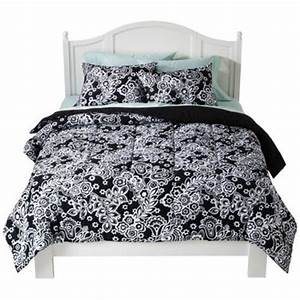Twin XL Extra Long Dorm Size Bedding Damask Comforter Set ...