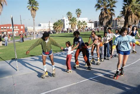 The Roller Skating Venice Beach Bohemians Of 1979