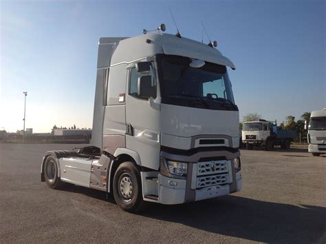 renault truck renault trucks t 520 high sleeper cab white renault