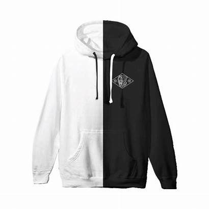 Hoodie Half Nowhere Nothing Patch Merch Drop