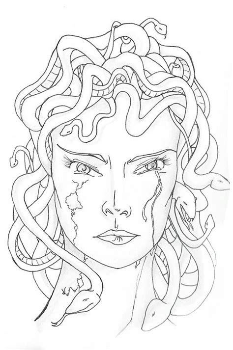 medusa coloring pages medusa coloring page coloring home