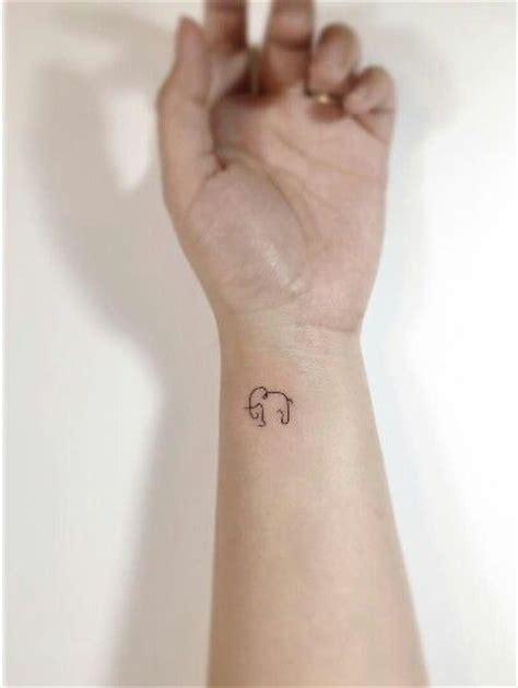 Best 25 Little Elephant Tattoos Ideas On Pinterest Henna Elephant