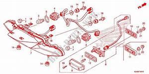 Taillights For Honda Vfr 800 F 2014   Honda Motorcycles
