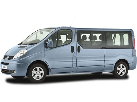 renault trafic  equivalent east coast airport transfers