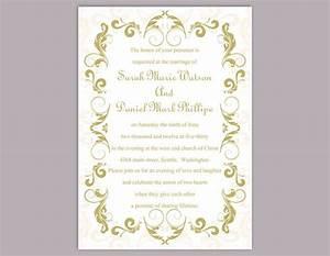 diy wedding invitation template editable text word file With diy wedding invitations in word