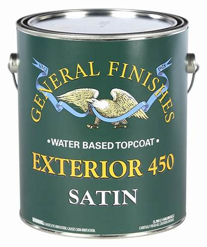 Water Based Exterior Satin Finishes General Coat