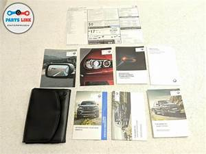 2014 Bmw X5 F15 Xdrive50i Manual Book Owners Guide Case
