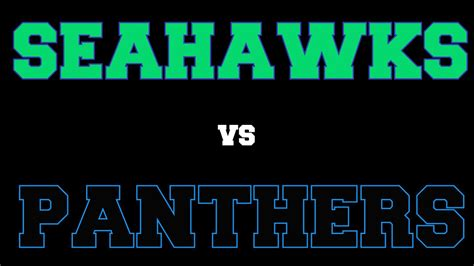 playoffs seahawks  panthers youtube