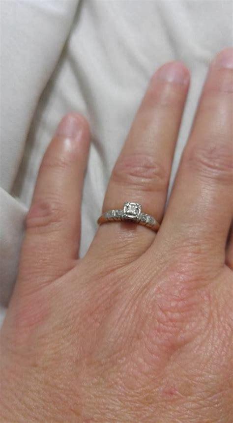 wife  proud   pathetic  engagement