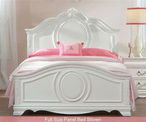 standard furniture jessica twin size panel bed girls