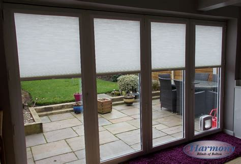 vertical blinds for patio doors fabric fit pleated blinds on a patio door